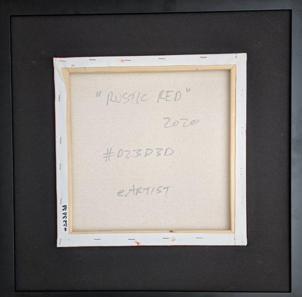 eArtist Rustic Red D23D3D